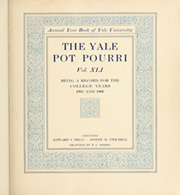 Page 9, 1906 Edition, Yale University - Banner and Pot Pourri Yearbook (New Haven, CT) online yearbook collection