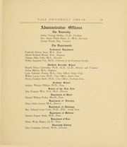 Page 17, 1910 Edition, Yale University - Banner and Pot Pourri Yearbook (New Haven, CT) online yearbook collection
