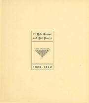 Page 5, 1910 Edition, Yale University - Banner and Pot Pourri Yearbook (New Haven, CT) online yearbook collection