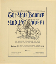 Page 6, 1910 Edition, Yale University - Banner and Pot Pourri Yearbook (New Haven, CT) online yearbook collection