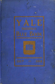 Page 1, 1918 Edition, Yale University - Banner and Pot Pourri Yearbook (New Haven, CT) online yearbook collection