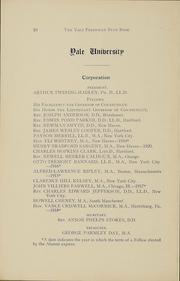 Page 11, 1918 Edition, Yale University - Banner and Pot Pourri Yearbook (New Haven, CT) online yearbook collection