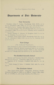 Page 12, 1918 Edition, Yale University - Banner and Pot Pourri Yearbook (New Haven, CT) online yearbook collection