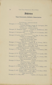 Page 17, 1918 Edition, Yale University - Banner and Pot Pourri Yearbook (New Haven, CT) online yearbook collection