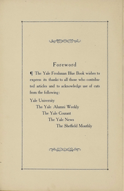 Page 5, 1918 Edition, Yale University - Banner and Pot Pourri Yearbook (New Haven, CT) online yearbook collection