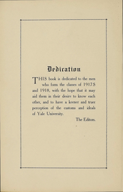 Page 7, 1918 Edition, Yale University - Banner and Pot Pourri Yearbook (New Haven, CT) online yearbook collection