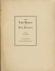 Page 3, 1920 Edition, Yale University - Banner and Pot Pourri Yearbook (New Haven, CT) online yearbook collection