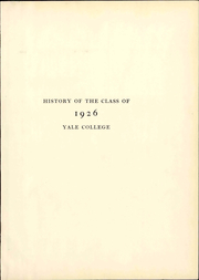 Page 7, 1926 Edition, Yale University - Banner and Pot Pourri Yearbook (New Haven, CT) online yearbook collection