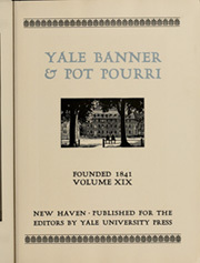 Page 11, 1927 Edition, Yale University - Banner and Pot Pourri Yearbook (New Haven, CT) online yearbook collection