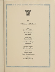 Page 17, 1927 Edition, Yale University - Banner and Pot Pourri Yearbook (New Haven, CT) online yearbook collection