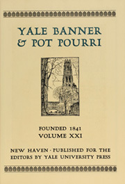 Page 11, 1929 Edition, Yale University - Banner and Pot Pourri Yearbook (New Haven, CT) online yearbook collection
