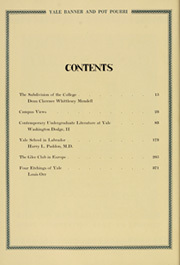Page 12, 1929 Edition, Yale University - Banner and Pot Pourri Yearbook (New Haven, CT) online yearbook collection