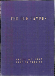 1945 Edition, Yale University - Banner and Pot Pourri Yearbook (New Haven, CT)