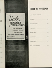 Page 11, 1952 Edition, Yale University - Banner and Pot Pourri Yearbook (New Haven, CT) online yearbook collection