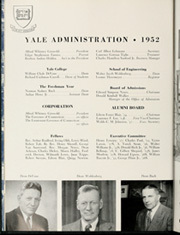 Page 12, 1952 Edition, Yale University - Banner and Pot Pourri Yearbook (New Haven, CT) online yearbook collection