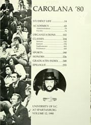 Page 5, 1980 Edition, University of South Carolina Spartanburg - Carolana Yearbook (Spartanburg, SC) online yearbook collection