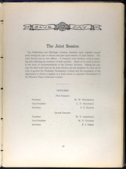 Page 65, 1913 Edition, Westminster College - Blue Jay Yearbook (Fulton, MO) online yearbook collection