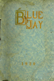 Westminster College - Blue Jay Yearbook (Fulton, MO) online yearbook collection, 1920 Edition, Page 1