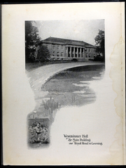 Page 10, 1922 Edition, Westminster College - Blue Jay Yearbook (Fulton, MO) online yearbook collection