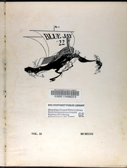Page 7, 1922 Edition, Westminster College - Blue Jay Yearbook (Fulton, MO) online yearbook collection