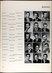Page 17, 1954 Edition, Westminster College - Blue Jay Yearbook (Fulton, MO) online yearbook collection