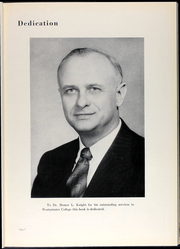 Page 9, 1954 Edition, Westminster College - Blue Jay Yearbook (Fulton, MO) online yearbook collection