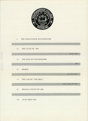 Page 7, 1964 Edition, Westminster College - Blue Jay Yearbook (Fulton, MO) online yearbook collection