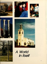 Page 7, 1986 Edition, Westminster College - Blue Jay Yearbook (Fulton, MO) online yearbook collection