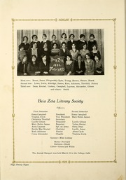 Page 108, 1929 Edition, Ozark Wesleyan College - Ashlar Yearbook (Carthage, MO) online yearbook collection