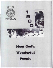 Page 1, 1980 Edition, Hannibal LaGrange University - Trojan Yearbook (Hannibal, MO) online yearbook collection