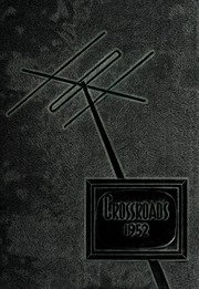 Page 1, 1952 Edition, Missouri Southern State University - Crossroads Yearbook (Joplin, MO) online yearbook collection