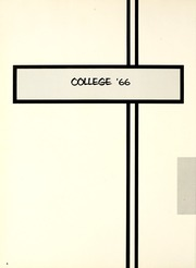 Page 8, 1966 Edition, Missouri Southern State University - Crossroads Yearbook (Joplin, MO) online yearbook collection