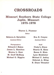 Page 4, 1976 Edition, Missouri Southern State University - Crossroads Yearbook (Joplin, MO) online yearbook collection