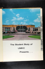 Page 5, 1966 Edition, University of Missouri at Kansas City - Kangaroo Yearbook (Kansas City, MO) online yearbook collection