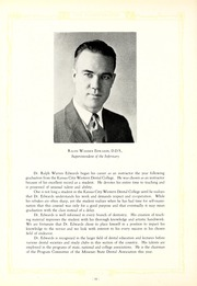 Page 16, 1931 Edition, University of Missouri at Kansas City School of Dentistry - Bushwacker Yearbook (Kansas City, MO) online yearbook collection