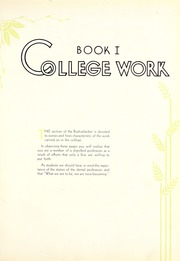 Page 9, 1931 Edition, University of Missouri at Kansas City School of Dentistry - Bushwacker Yearbook (Kansas City, MO) online yearbook collection