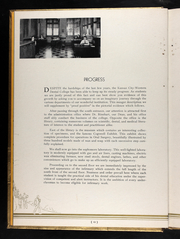 Page 16, 1936 Edition, University of Missouri at Kansas City School of Dentistry - Bushwacker Yearbook (Kansas City, MO) online yearbook collection