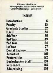 Page 6, 1975 Edition, University of Missouri at Kansas City School of Dentistry - Bushwacker Yearbook (Kansas City, MO) online yearbook collection