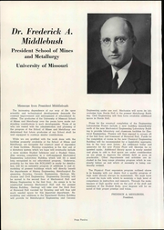 Page 16, 1950 Edition, Missouri University of Science and Technology - Rollamo Yearbook (Rolla, MO) online yearbook collection