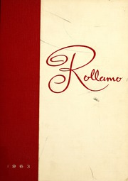 1963 Edition, Missouri University of Science and Technology - Rollamo Yearbook (Rolla, MO)