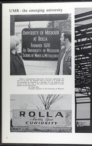Page 14, 1969 Edition, Missouri University of Science and Technology - Rollamo Yearbook (Rolla, MO) online yearbook collection