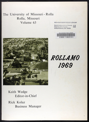 Page 5, 1969 Edition, Missouri University of Science and Technology - Rollamo Yearbook (Rolla, MO) online yearbook collection