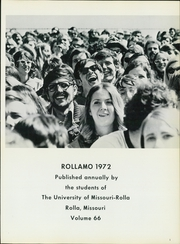 Page 5, 1972 Edition, Missouri University of Science and Technology - Rollamo Yearbook (Rolla, MO) online yearbook collection