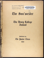 Page 5, 1921 Edition, Drury University - Souwester Yearbook (Springfield, MO) online yearbook collection