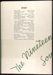 Page 10, 1936 Edition, Drury University - Souwester Yearbook (Springfield, MO) online yearbook collection