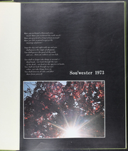 Page 5, 1973 Edition, Drury University - Souwester Yearbook (Springfield, MO) online yearbook collection