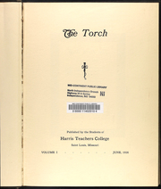 Page 7, 1926 Edition, Harris Stowe State University - Torch Yearbook (St Louis, MO) online yearbook collection