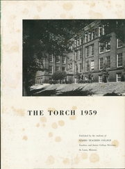 Page 5, 1959 Edition, Harris Stowe State University - Torch Yearbook (St Louis, MO) online yearbook collection