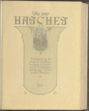 Page 7, 1927 Edition, Washington University - Hatchet Yearbook (St Louis, MO) online yearbook collection