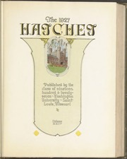Page 9, 1927 Edition, Washington University - Hatchet Yearbook (St Louis, MO) online yearbook collection